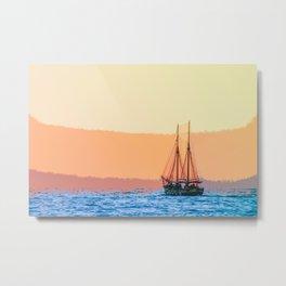 Sailing Takes Me Away Metal Print