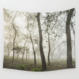 Chitwan national park forest Wall Tapestry