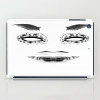 creepy iPad Cases featuring creepy by karens designs