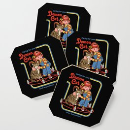 Caring for your Demon Cat Coaster