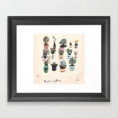 14 Plants & Flowers Framed Art Print