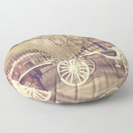 New Orleans Carriage Ride Floor Pillow