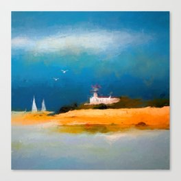 Ocean Part Canvas Print