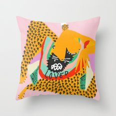 Love Club Throw Pillow