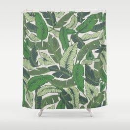 Savusavu Tropical Print Shower Curtain