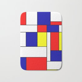 Mondrian #38 Bath Mat