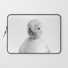 Black and White Duckling Laptop Sleeve