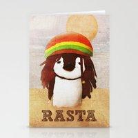 reggae Stationery Cards featuring Reggae by cristi-scg