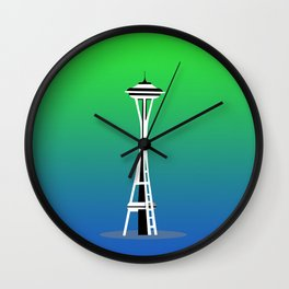 Seattle City Wall Clock