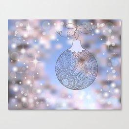 christmas ball Canvas Print