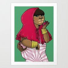 SJOKOLADE 8 Art Print