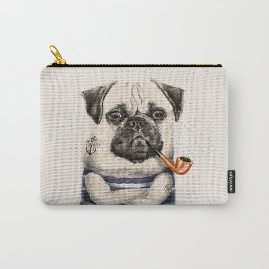 Mr.Pug Carry-All Pouch