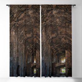 Large gallery in an industrial building Blackout Curtain