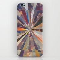 vertigo iPhone & iPod Skins featuring Vertigo by Whitney Bolin