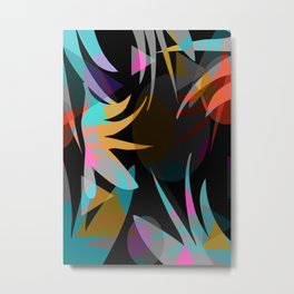 Nightjungle Metal Print