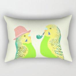 Feather Friends Rectangular Pillow