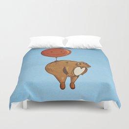 Float On, Bear, Float On Duvet Cover