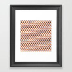 A Flock of Birds Framed Art Print