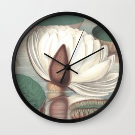 Amazon Water Lily Wall Clock