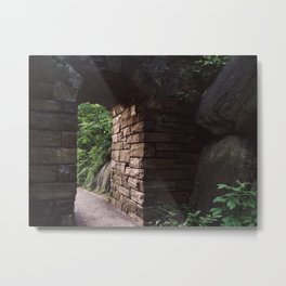Central Park Archway Metal Print