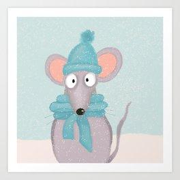 Karlchen Maus Art Print