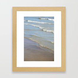 ocean love Framed Art Print