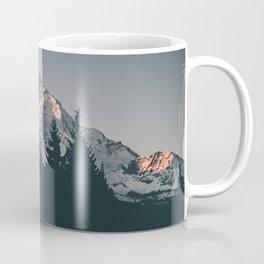 First Light on Mount Hood Coffee Mug