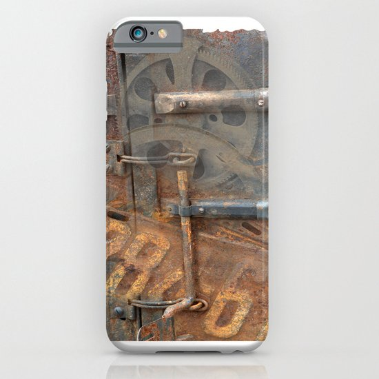 Rusty Stuff Montage iPhone & iPod Case