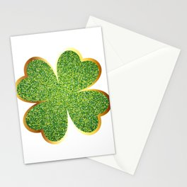 Guys! Have This St. Patrick's Four-Cleaf Clover Tee Saying T-shirt Design Irish Celebrate Party Stationery Cards