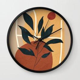 Abstract Shapes No.16 Wall Clock