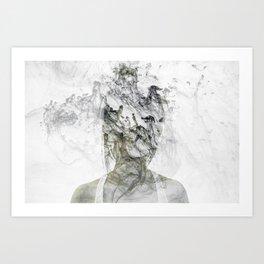 Silence1 Art Print