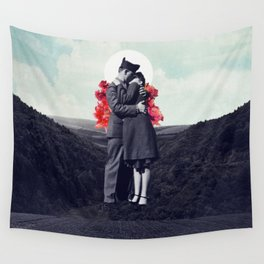 Hold My Breath Wall Tapestry