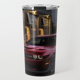Octane Red Challenger SRT Hellcat Travel Mug