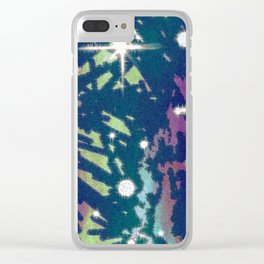 Death has a way of finding those who welcome it. Clear iPhone Case