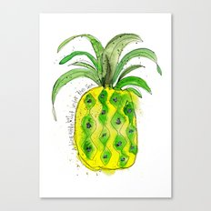 Pineapple (NOT under the sea) Canvas Print