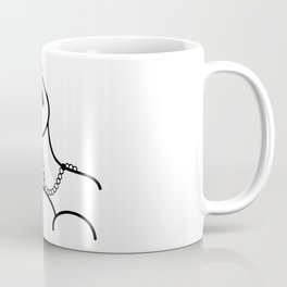 Outline pattern of Picasso art Coffee Mug