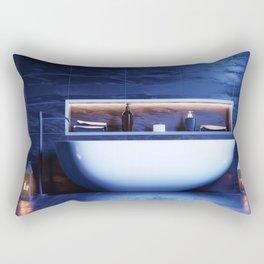 Bathroom v1 Rectangular Pillow