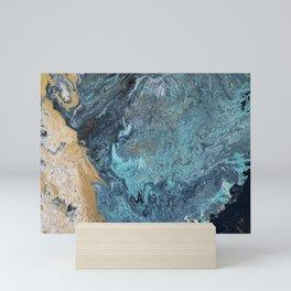 Rupture in the sea Mini Art Print