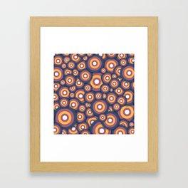 Circle World Framed Art Print