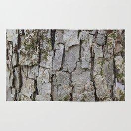 sycamore tree bark Rug