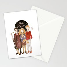 the trio Stationery Cards