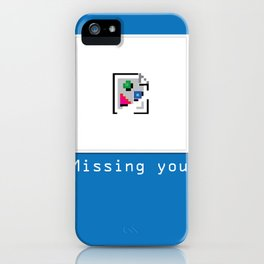 Talk Nerdy to me - Missing you iPhone Case