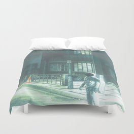 Home Coming Duvet Cover