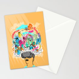 Adventures in the Oculus Rift Stationery Cards