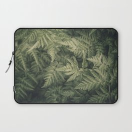 SHADED GREEN FERN Laptop Sleeve