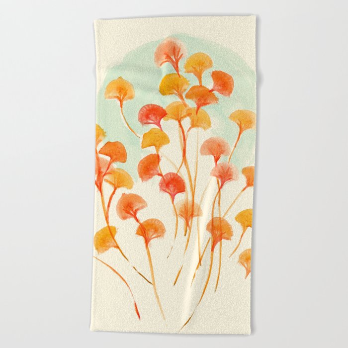 The bloom lasts forever Beach Towel