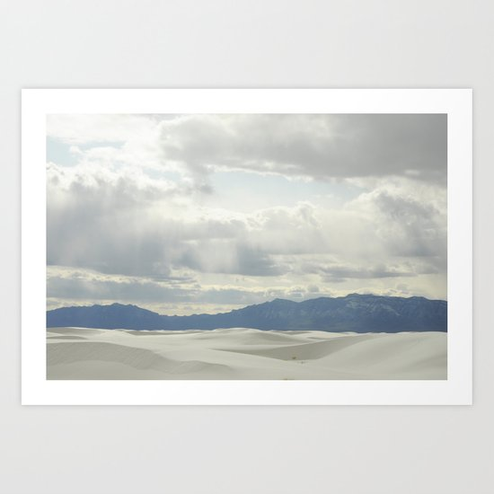 White Sands, NM Art Print