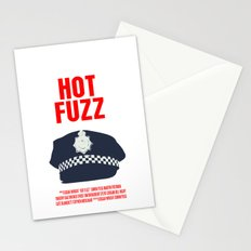 Hot Fuzz Movie Poster Stationery Cards
