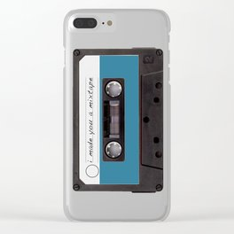I made you a mixtape | Mix Tape Graphic Design Clear iPhone Case