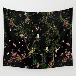 Monkey World Wall Tapestry
